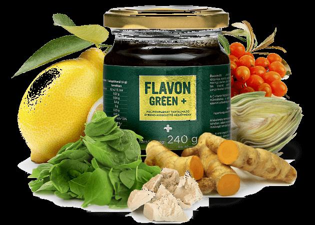 Flavon Green +